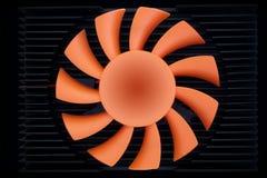 Pale del ventilatore fotografia stock
