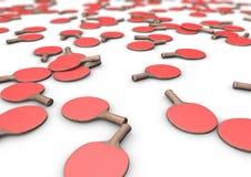 Pale di ping-pong Fotografie Stock Libere da Diritti