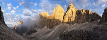 Pale di san martino Stock Images