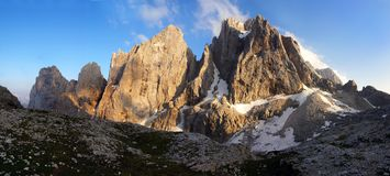Pale di san martino Royalty Free Stock Photos