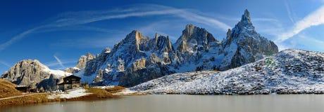 Pale di San Martino, Dolomit, Italien Stockbilder
