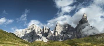 Pale di San Martino Dolomiti Arkivfoton