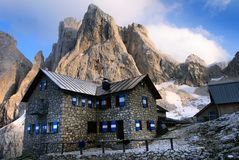 Pale di san martino - dolomiti italy royalty free stock photo