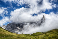 Pale di San Martino, Dolomiti Royalty Free Stock Photography