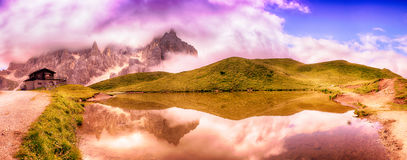 Pale di San Martino, Dolomiti Royalty Free Stock Images