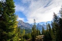 Pale di San Martino en automne Photos stock