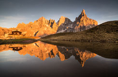 Pale di San Martino Stock Photography