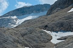 Pale di San Martino highland, Dolomites Stock Image
