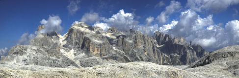 Pale di San Martino highland, Dolomites Royalty Free Stock Images