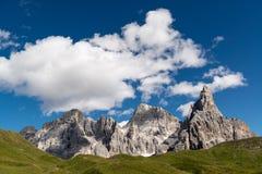 Pale di San Martino, landscape. Landscape of Pale di San Martino, Trentino - Dolomites, Italy Stock Photos
