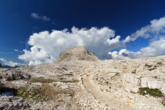 Pale di San Martino plateau Stock Photo