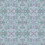 Pale eastern pattern Royalty Free Stock Photos