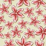Pale Floral Background Image libre de droits