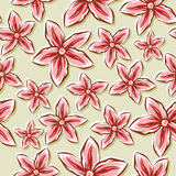 Pale Floral Background Royalty Free Stock Image