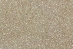 Pale gold glitter texture background Royalty Free Stock Photography