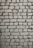 Pale gray brick wall texture Royalty Free Stock Images