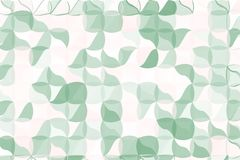 Pale green, beige polygonal abstract background. Low poly crystal pattern. Design with triangle shapes. Stock Photos