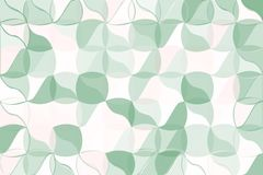 Pale green, beige polygonal abstract background. Low poly crystal pattern. Design with triangle shapes. Pale green, beige polygonal abstract background Low poly Vector Illustration