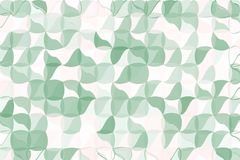 Pale green, beige polygonal abstract background. Low poly crystal pattern. Design with triangle shapes. Stock Images