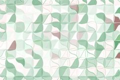 Pale green, beige polygonal abstract background. Low poly crystal pattern. Design with triangle shapes. Pale green, beige polygonal abstract background Low poly stock illustration
