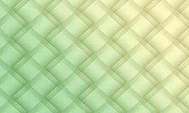 Pale green and light yellow diagonal geometric squares lattice abstract pattern background illustration stock illustration