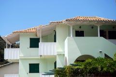 Pale Green Villa Stock Image