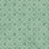 Pale Green Wheel of Dharma Symbol Tile Pattern Repeat Background Royalty Free Stock Photography