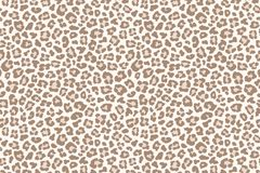 Pale leopard fur spotted texture. Vector. Illustration Royalty Free Stock Photo