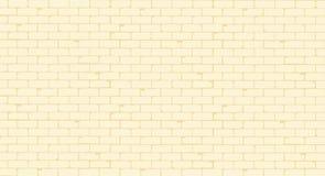 Pale Painted Brick Wall Image libre de droits