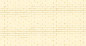 Pale Painted Brick Wall Royalty Free Stock Image