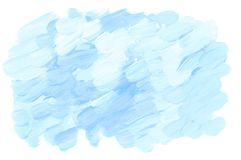 Pale pastel rosy color acrylic paint brush stroke Royalty Free Stock Image