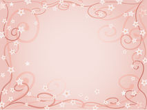Pale pink background. Pale flower pink background with frame Royalty Free Stock Image