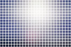 Pale pink blue abstract rounded mosaic background over white Royalty Free Stock Images
