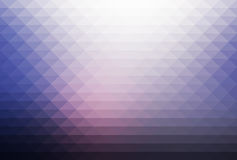 Pale pink blue rows of triangles background Stock Photo
