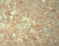 Pale pink onyx with a yellow tint. A close-up shot. royalty free stock photo