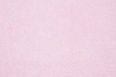 Pale pink plush fabric background Stock Photo