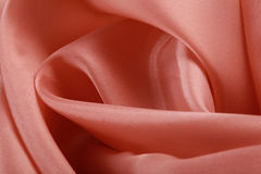 Pale pink satin Stock Photography