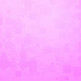 Pale pink shades glowing rounded tiles background Royalty Free Stock Photography