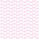 Pale Pink Stars & Stripes Royalty Free Stock Photo