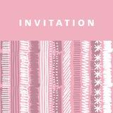 Pale pink  stripe background Stock Image