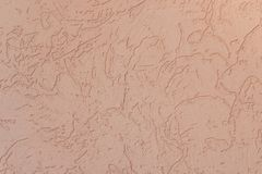 Pale pink wall background. Texture background stock photo