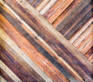 Pale plank wood texture background,Diagonal alignment wall Royalty Free Stock Photo