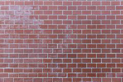 Pale red brick wall background texture. Outdoor pale red brick wall background texture stock images
