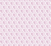 Pale rose color vector pattern with heart. Stock Photos