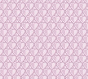Pale rose color vector pattern with heart. Royalty Free Stock Images