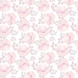 Pale rose pattern Stock Images