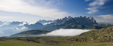 Pale San Martino at morning Royalty Free Stock Photos