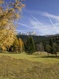 Pale  San Martino, Trentino, Dolomites, Italy Stock Images