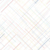 Pale seamless pattern. Diagonal random lines. Delicate colors. Royalty Free Stock Photos