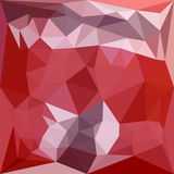 Pale Violet Red Abstract Low Polygon Background Stock Image
